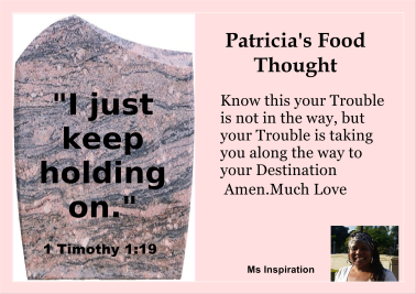Food thought 8-11 (trouble)